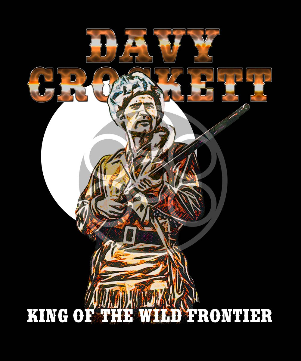 Check out this awesome 'Davy Crockett King Of the Wild Frontier New Fonts' design on @TeePublic! https://t.co/lh9WaSisqI #davycrockett #History #alamo #rifle #Texas #Tennessee #FRONTIER https://t.co/RCSbQWCr6J