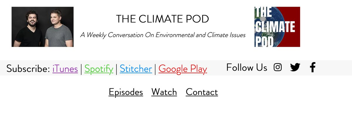 Please listen to my  interview about The #NewClimateWar on this week's @ClimatePod: https://t.co/I1rCuEFATa https://t.co/wnG5GHshIu