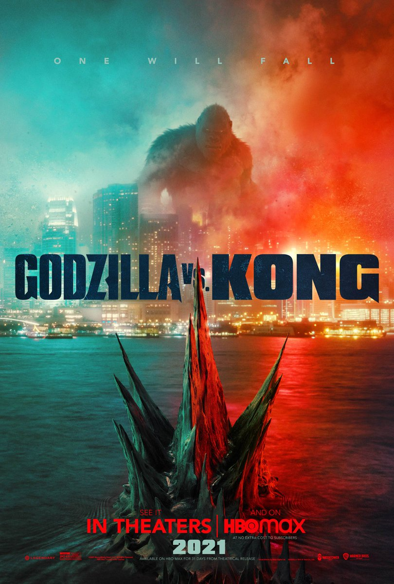 This is the real rumble in the jungle, doesn't get any bigger than this. #GodzillavsKong