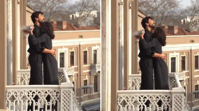 """Nesrin Cavadzade ve Gökhan Alkan'ın çok özel anları! """"Yapma"""" demesine rağmen öpücüklere boğdu  Haberin devami =  #bingursonmeztutuklansin  #MesutOEztuerkmenTutuklansın  #Tanzimİstiyoruz  #Gelemeyeceksiniz  #DilekAğacı  #"""