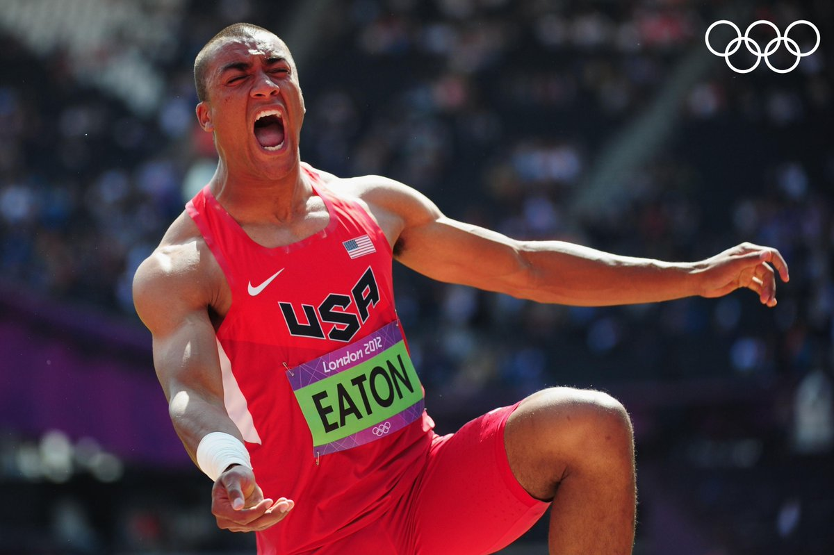 Happy Birthday to American decathlete and two-time Olympic champion @AshtonJEaton 🥇🥇.  #StrongerTogether  @TeamUSA @WorldAthletics