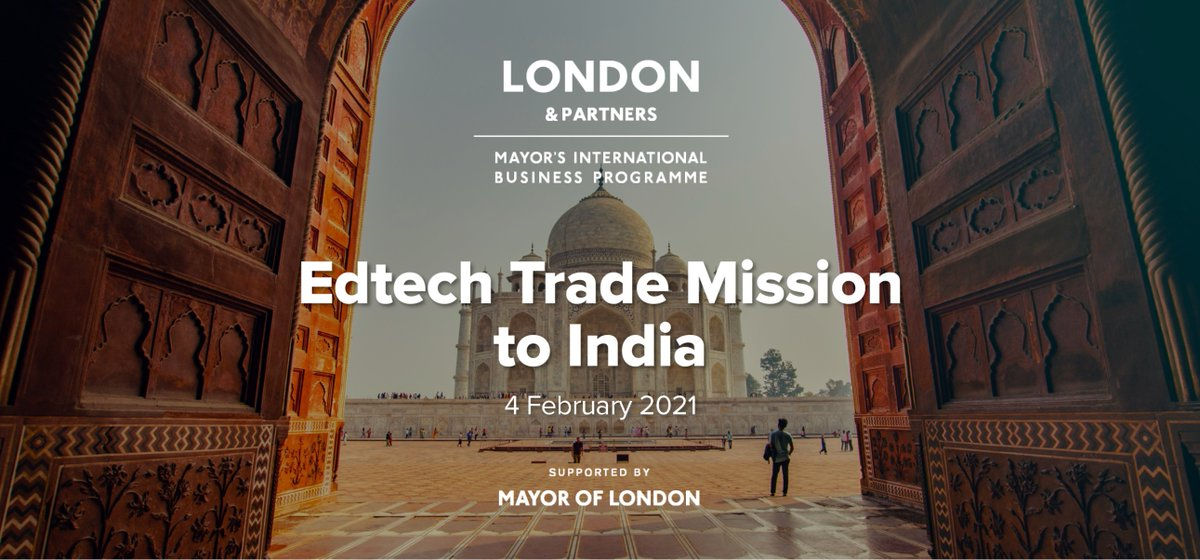 Fantastic to meet the @londonpartners team and fellow delegates at the pre-mission briefing this morning for EdTech Virtual Trade Mission to India.  @businesslondon  #londonisopen #GlobalGoals
