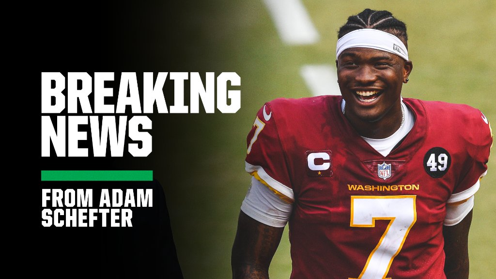 Breaking: The Steelers and QB Dwayne Haskins have reached an agreement on a one-year contract, a source told @AdamSchefter. https://t.co/rYQ6niM6gd