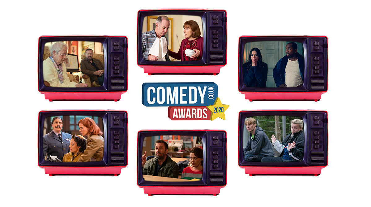 The Best Returning TV Sitcom 2020 category in our awards is a tough one to vote for! Will you pick After Life, Friday Night Dinner, Ghosts, The Goes Wrong Show, Not Going Out or This Country?