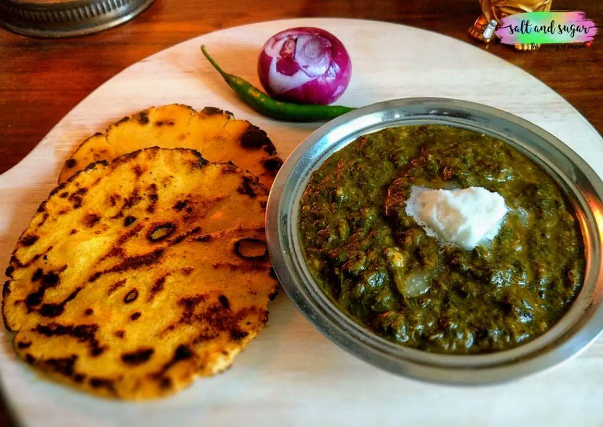 @absolutebbq This traditional Punjabi dish is perfect for serving in Lohri ki thaali. Makki ki roti is the best pair for sarson ka saag! #WeMetOnTwitter Join Friends :  @CheboluVasantha @imArun001 @manikumar4144 @TRUTHSE6 https://t.co/C6vDhPVhrE