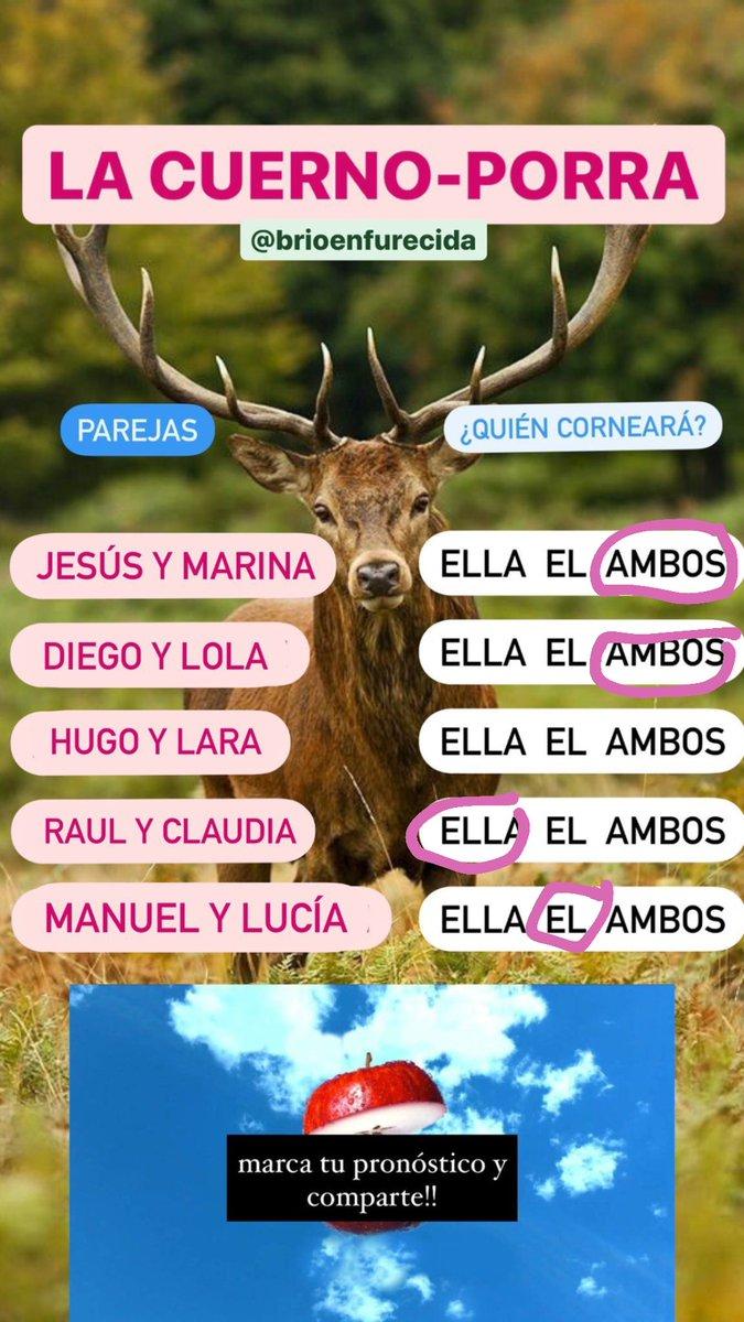 #LaIslaDeLasTentaciones3 esta es mi porra @BrioEnfurecida