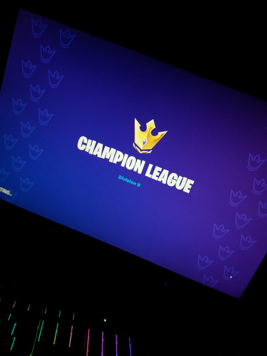 LOOKING FOR TWO PLAYERS FROM EU SERVERS!   Really want to participate in trio cash cups but have no Friends in Champions Leauge. I m not a pro or anything but I can play very well.  #fortnite #fncs #championsleague