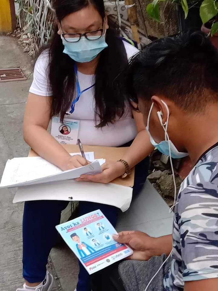 With USAID's support, the Cavite Positive Action Group conducted community TB education in Cavite City raising public awareness on #TB as a killer disease and promoting positive health-seeking behavior amid the #COVID19 outbreak & helping address stigma related to TB and #HIV.