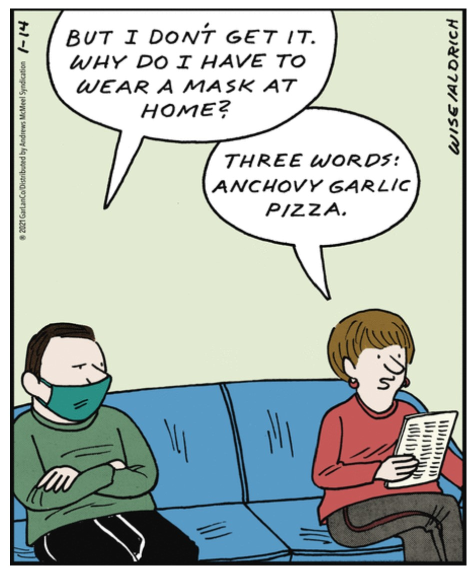 . Unusual #Mask Requirement  #comics #cartoon #lol #comedy #jokes #humor #hilarious #laughter #funny #fun #smile #laughing #lmao #haha