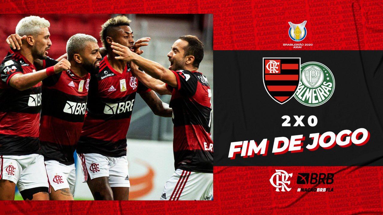 Assista aos melhores momentos da vitória do Mengão em Brasília