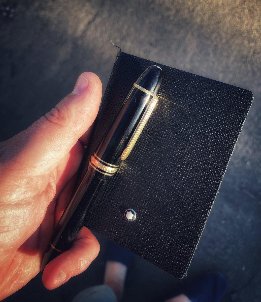 Keepin it #classy.  @montblanc_world   #pen #pens #fountainpen #montblanc #meisterstück149 #writing #write #amwriting