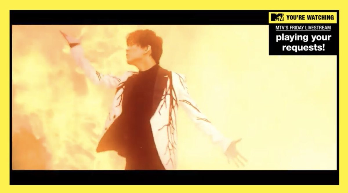 """@MTV @KevanKenney REQUEST @dimash_official on @MTV for the #FridayLivestream  😎 #DimashOnMTV   Please play """"Across Endless Dimensions"""""""