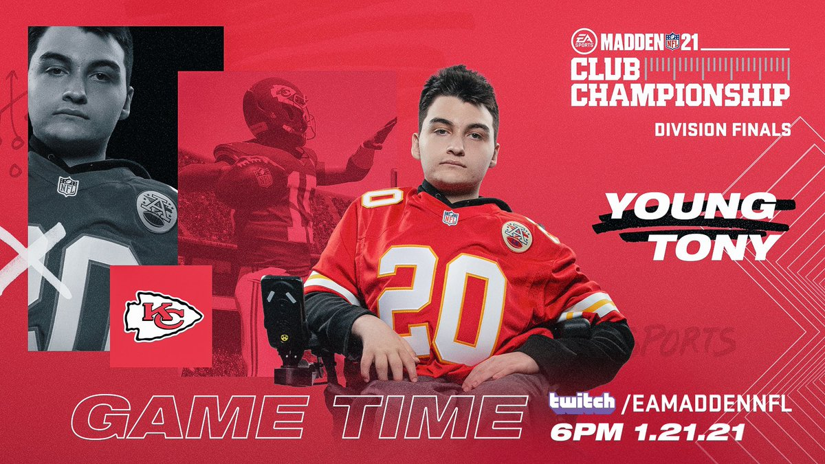 The @EAMaddenNFL Club Championship divisional round is now live 📺: