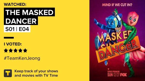 The Masked Dancer - S01 | E04 on TV Time #TheMaskedDancer