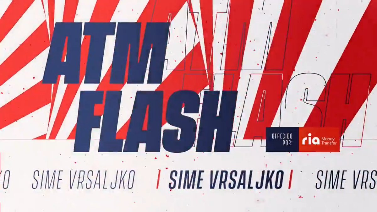"""📡 🔴 #ATMFLASH  🎙 @Vrsaljko y su análisis de #EibarAtleti:  ✍ """"𝙶𝚊𝚗𝚊𝚖𝚘𝚜 𝚝𝚛𝚎𝚜 𝚙𝚞𝚗𝚝𝚘𝚜 𝚖𝚞𝚢 𝚍𝚒𝚏í𝚌𝚒𝚕𝚎𝚜""""  🔴⚪ #AúpaAtleti"""