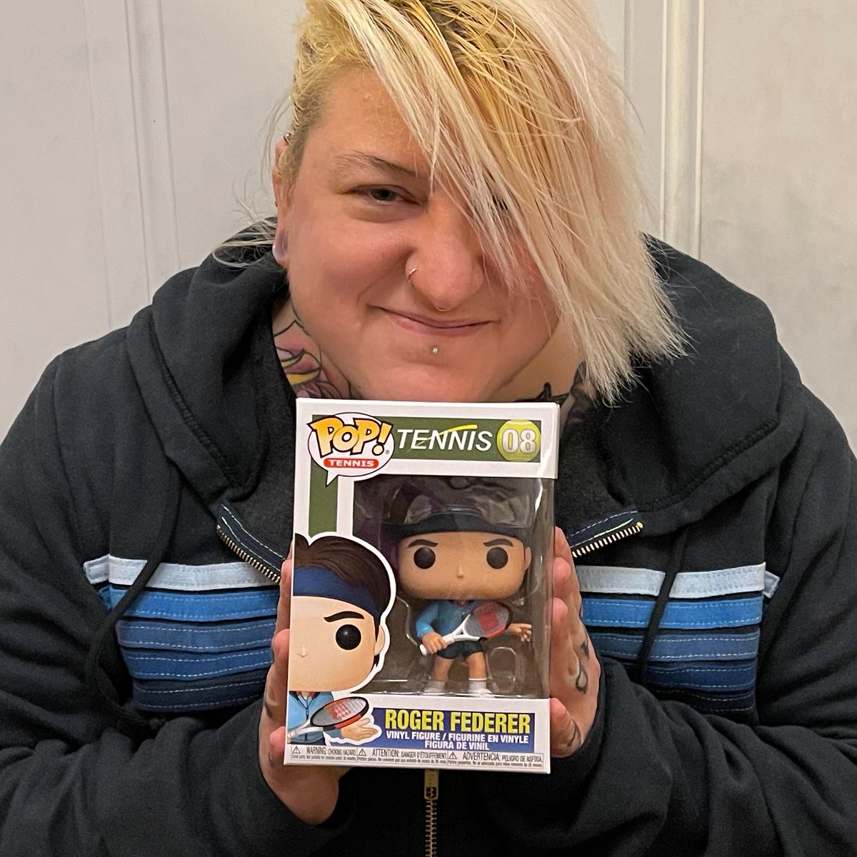 .@rogerfederer I got my Roger Funko POP today! I'm so excited! I've only been waiting for this since forever! WHOOOOOOOP! #rogerfederer #FunkoPops #tennis  @ChrissieEvert @ChrisMcKendry have you got yours yet?! 😁😁