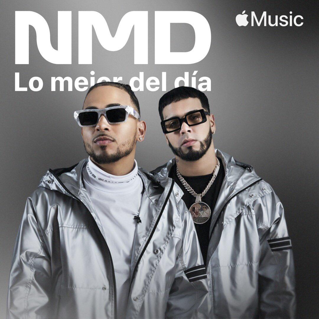 Los Dioses @Anuel_2bleA & @ozuna están en la portada de New Music Daily de @AppleMusicES. ¿Ya los escuchaste?