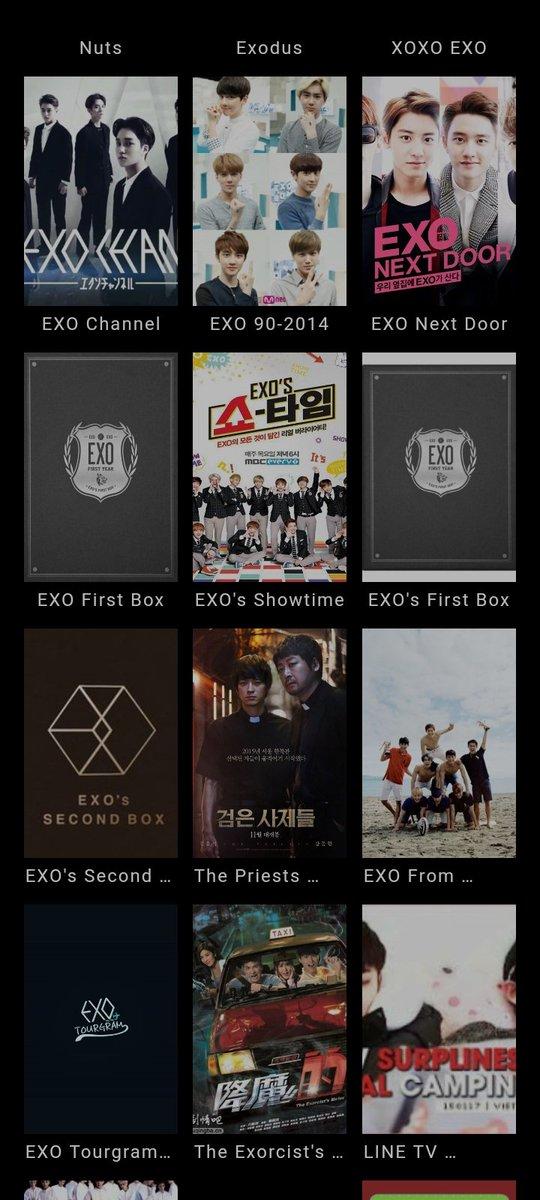 Replying to @Dokkkai: Binge watching EXO Shows😍😍