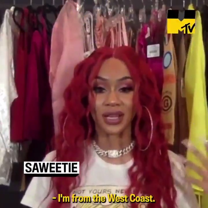 .@Saweetie talked to @MTVNews about making her acting debut on @grownish, her new album 'Pretty B.I.T.C.H. Music,' and so much more! 👑🎬