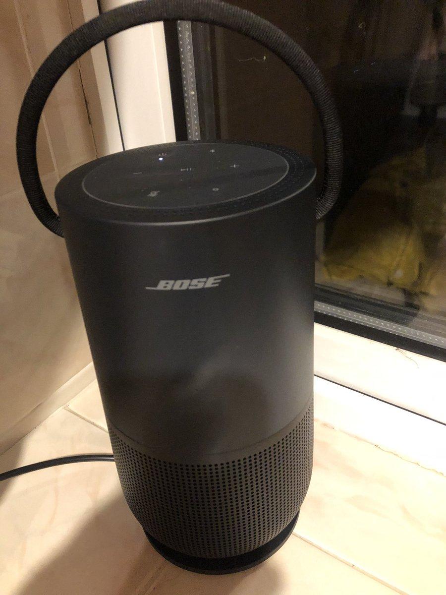 Got a new best friend, follows me everywhere around the house. Meet my mate Bose the Portable Speaker. #MusicIsMagic #MentalHealthMatters