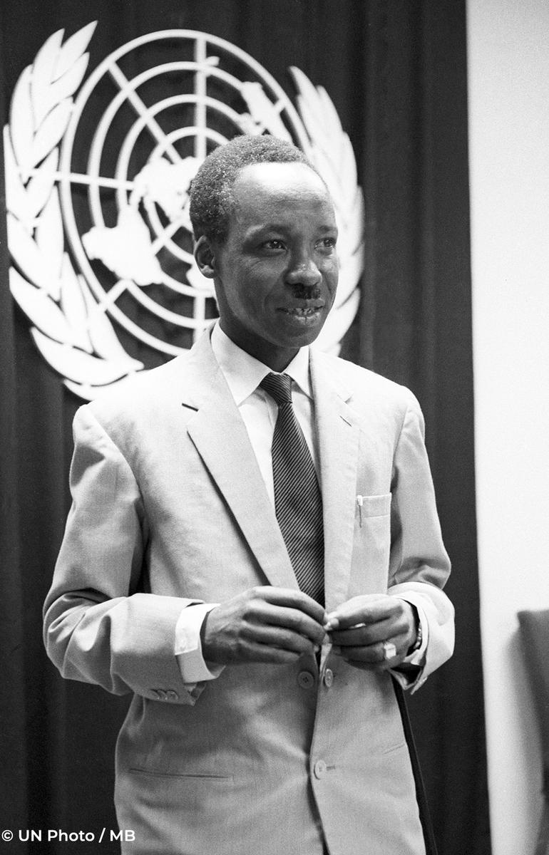 #FBF kwenda tarehe 11, Julai, 1961, Mwalimu Julius Nyerere alipotembelea Umoja wa Mataifa katika wadhfa wa Waziri Mkuu wa Tanganyika ambayo ilikuwa bado haijapata uhuru.  Picha zingine za maktaba zetu hapa: