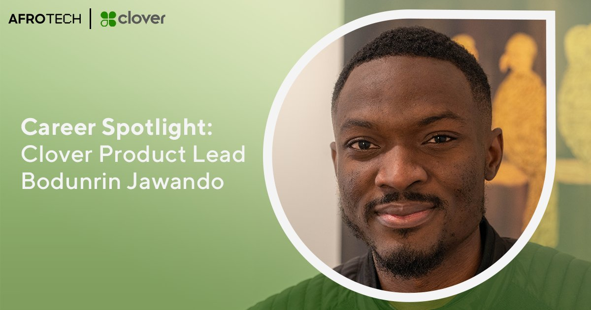 Black in tech? Check out these career keys 🔑🔑 from @CloverCommerce product lead, #HowardAlum, and Nigerian immigrant 🇳🇬 Bodunrin Jawando, who speaks exclusively with AfroTech about his career journey in #FinTech.  #ad