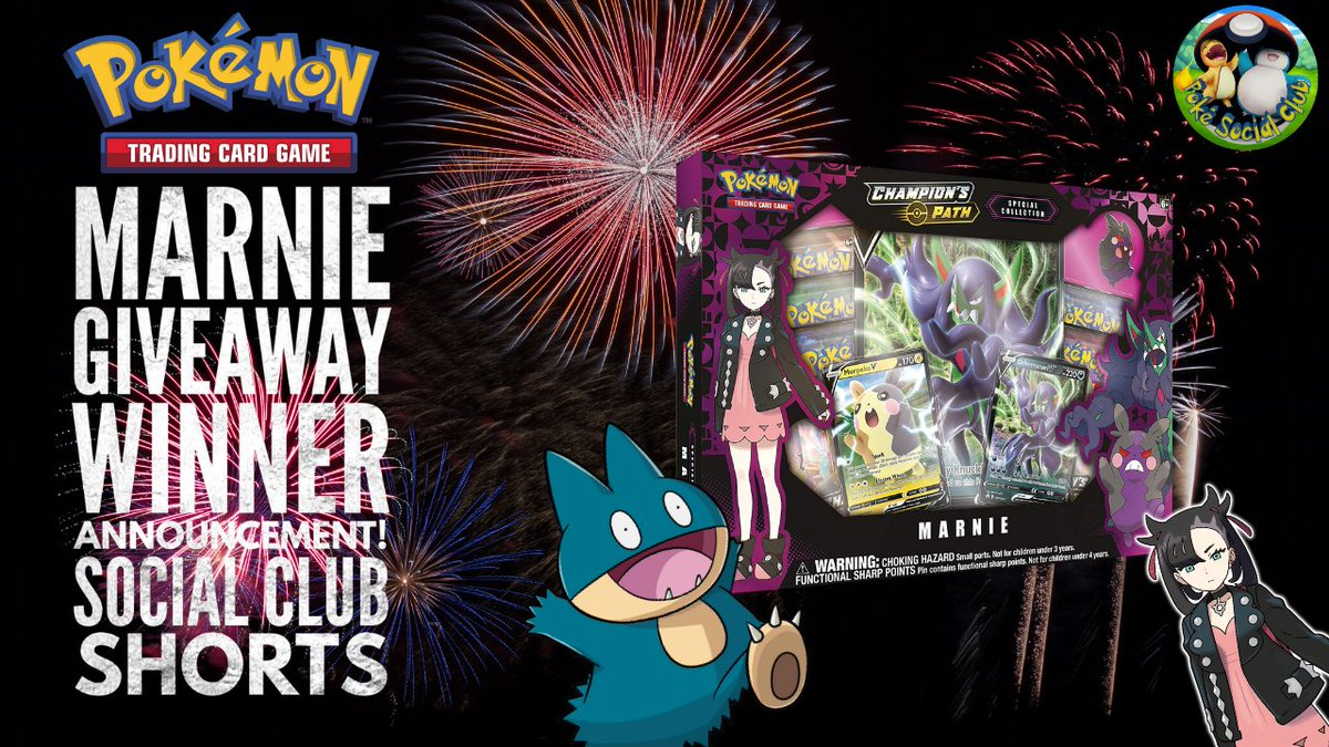 Did you win the Marnie giveaway we ran a week or so ago? Check out the new #shorts video to find out!  #pokemon #PokemonTCG #marnie #giveaway #giveaways #freestuff #PokemonSwordShield
