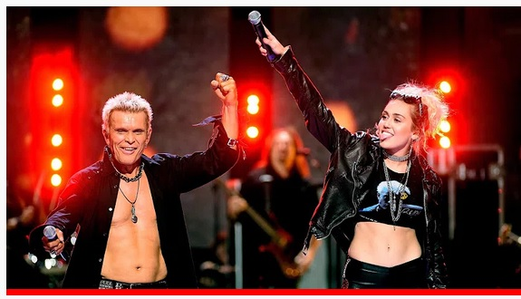 Hey @MileyCyrus and @BillyIdol, your live performance of Rebel Yell was hot!!! Seriously, could you do some porn please? At least pixelated. Your bank accounts, me, and the world will love it! Thanks in advance.   #MileyCyrus #billyidol #music #thursdaymorning #thursdayvibes