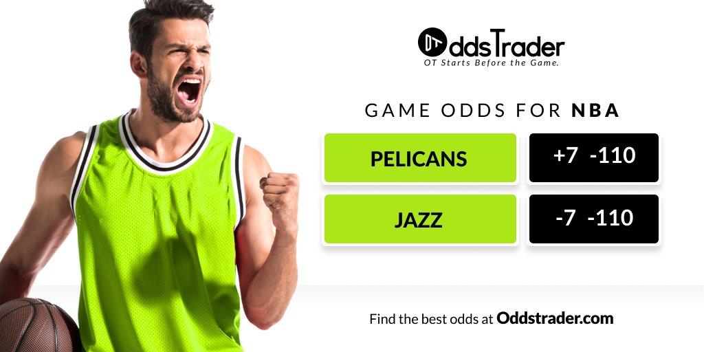 🏀 #NBA Betting Odds 🏟 New Orleans PELICANS vs Utah JAZZ #WontBowDown #TakeNote   LIVE NBA ODDS ▶️ https://t.co/DbxL82Ct0u https://t.co/AAPDN665DD
