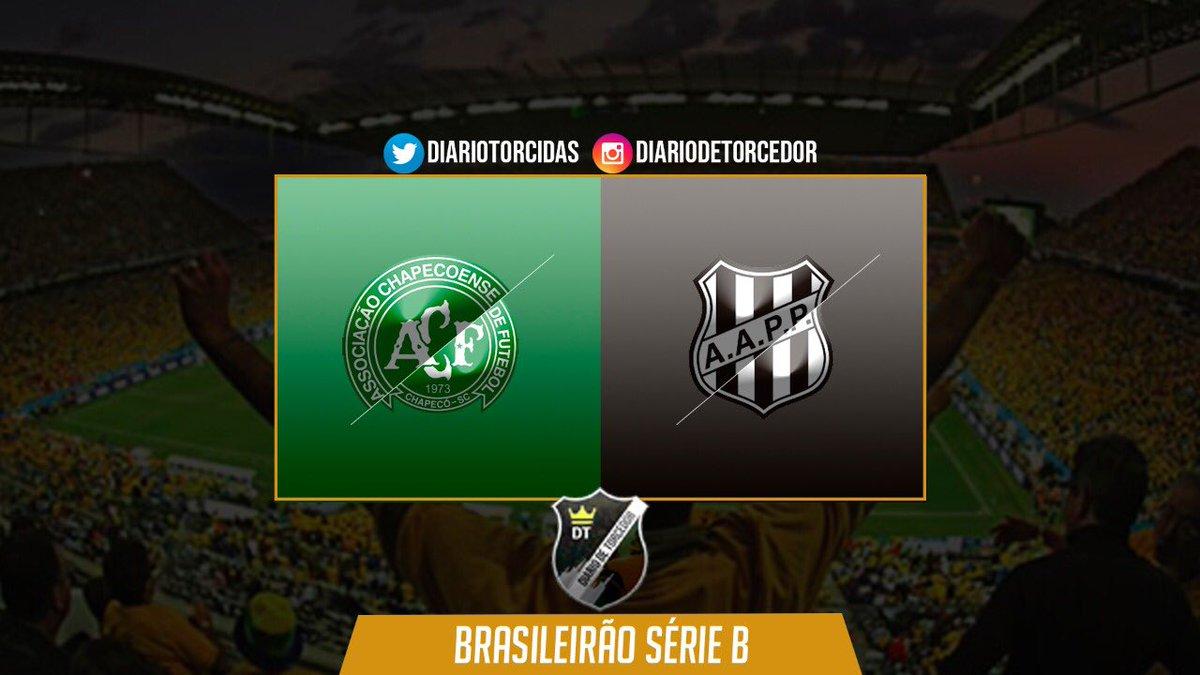 ⚽ Chapecoense x Ponte Preta 🏆 Campeonato Brasileiro Série B - 36ª rodada  🏠 Arena Condá  ⏰ 17:45 📺 SporTV e Premiere https://t.co/IQLtv8eTQI