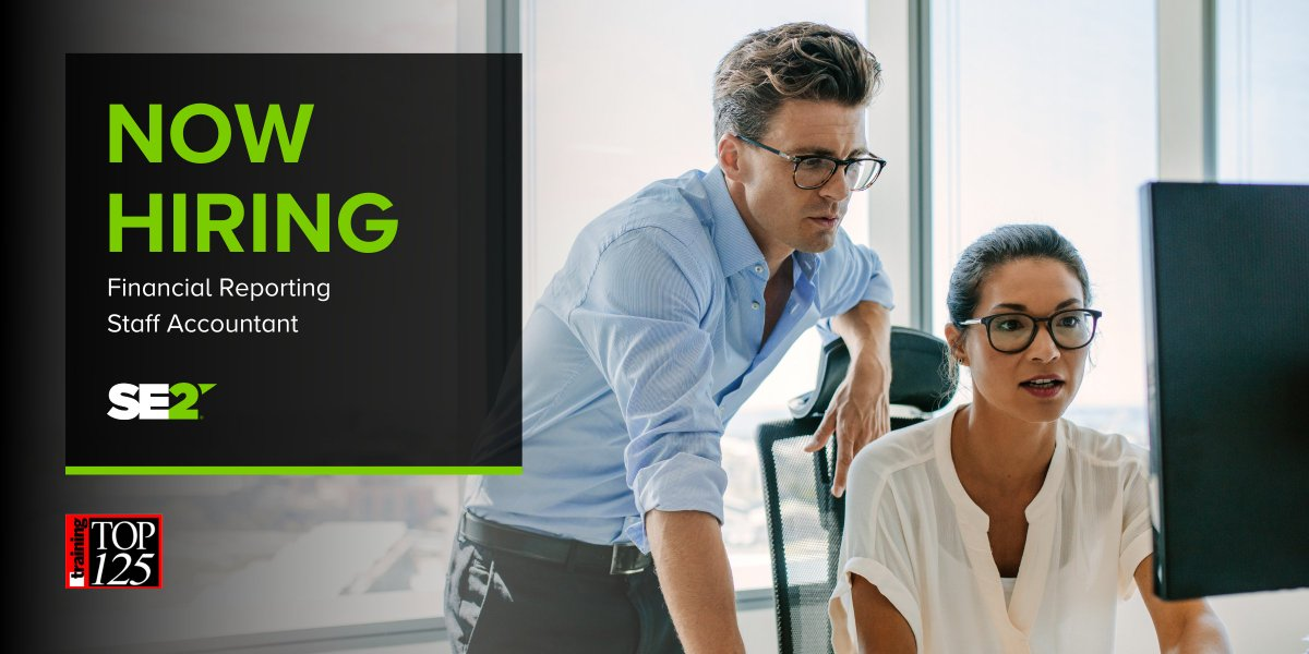 We're hiring! Do you have financial experience and familiarity with risk management concepts and techniques? SE2 is looking for a Financial Reporting Staff Accountant to join our team in Topeka, Kansas. Apply here: https://t.co/hnX6VwGqeE #Hiring #Recruiting https://t.co/FCffw0YKgw