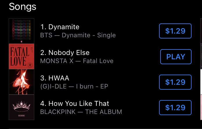 @billboardcharts @OfficialMonstaX Nobody Else at #10!!!!!!! Again, congratulations Hyungwon (song writer and producer) and @OfficialMonstaX!!!!!!! #NobodyElseButHyungwon  #WorldDigitalSongSales #FATAL_LOVE  #MONSTA_X  #HYUNGWON  #형원 #몬스타엑스