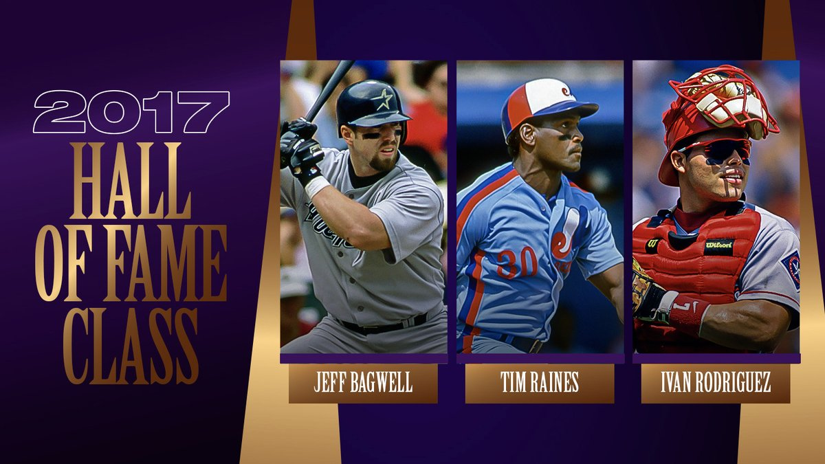 Replying to @MLBStats: Which 2017 @baseballhall inductee did you imitate as a kid?