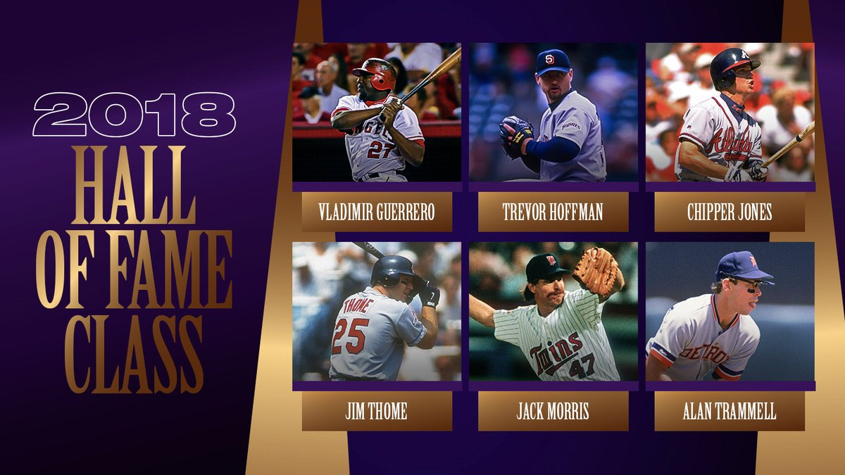 Replying to @MLBStats: What's your favorite baseball memory made by a member of the 2018 @baseballhall class?