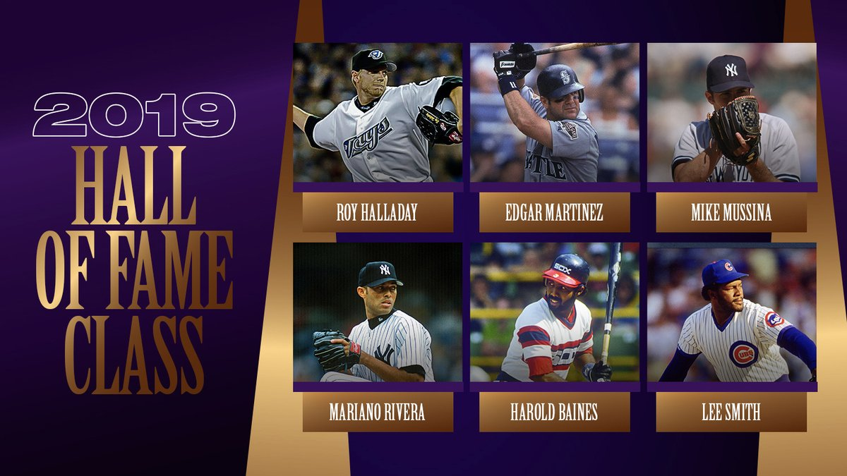 Replying to @MLBStats: Who's your favorite player from the @baseballhall Class of 2019?