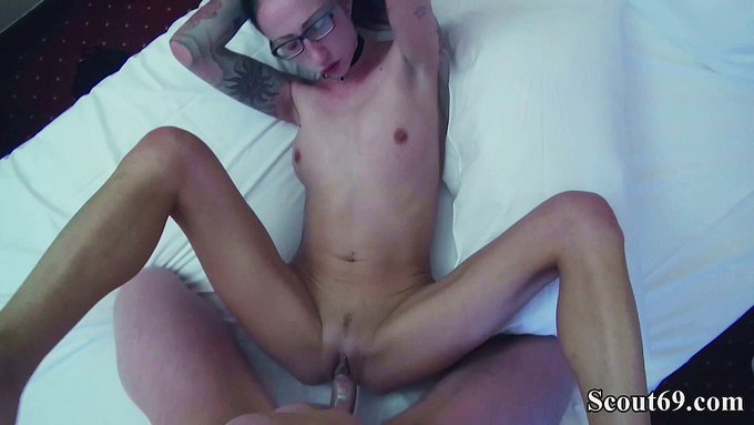 🔥Hot video sold! 🔥  💗German scout - skinny milf Stella-Star seduce to fuck and facial by stranger💗   👉https://t