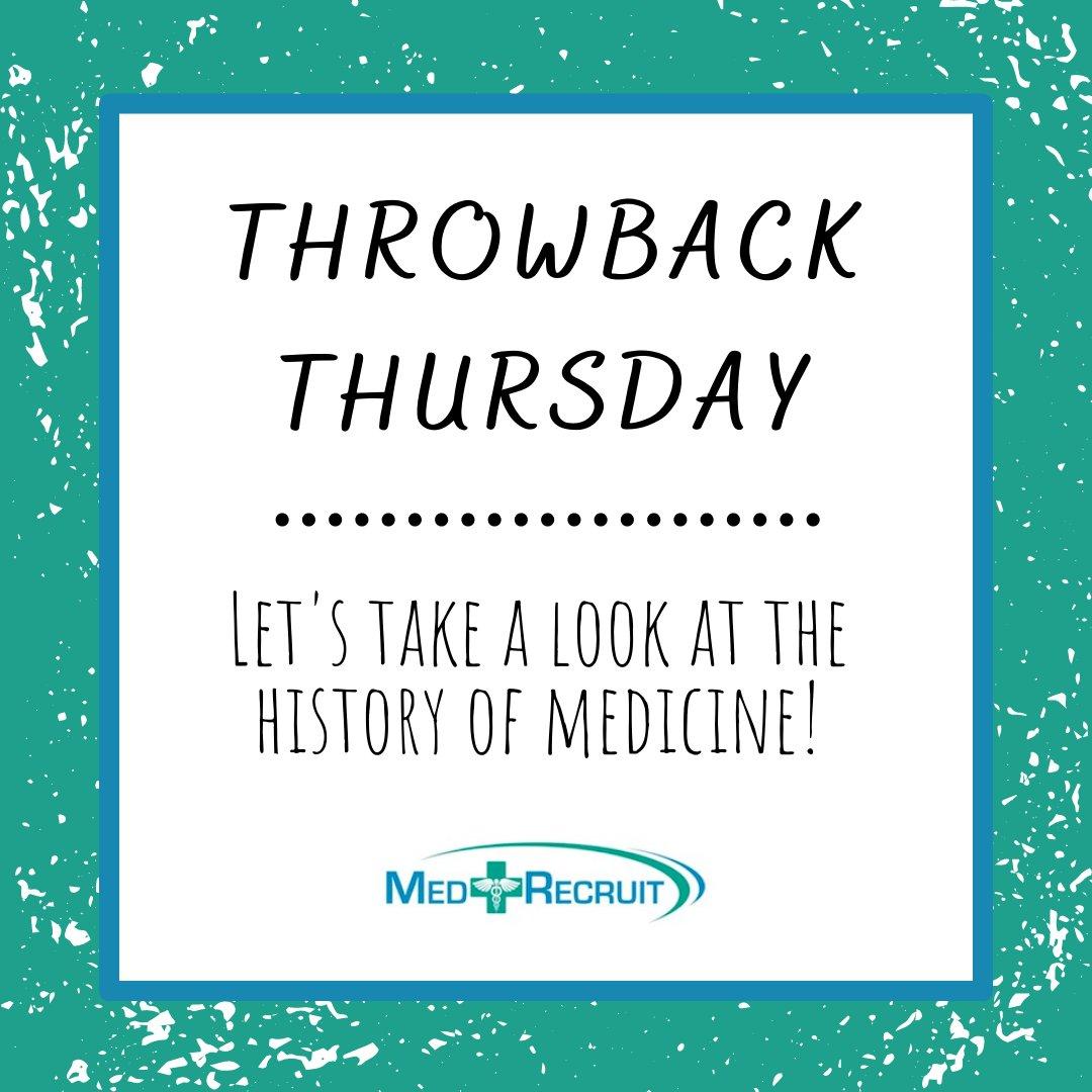 For #tbt, take a look at the history of medicine in the time of the Ancient Romans:     #throwbackthursday #thursdays #medicine #doctors #ancientromans #history #historyofmedicine #learnsomethingnew #education #knowledgeispower #healthcare #ancientmedicine
