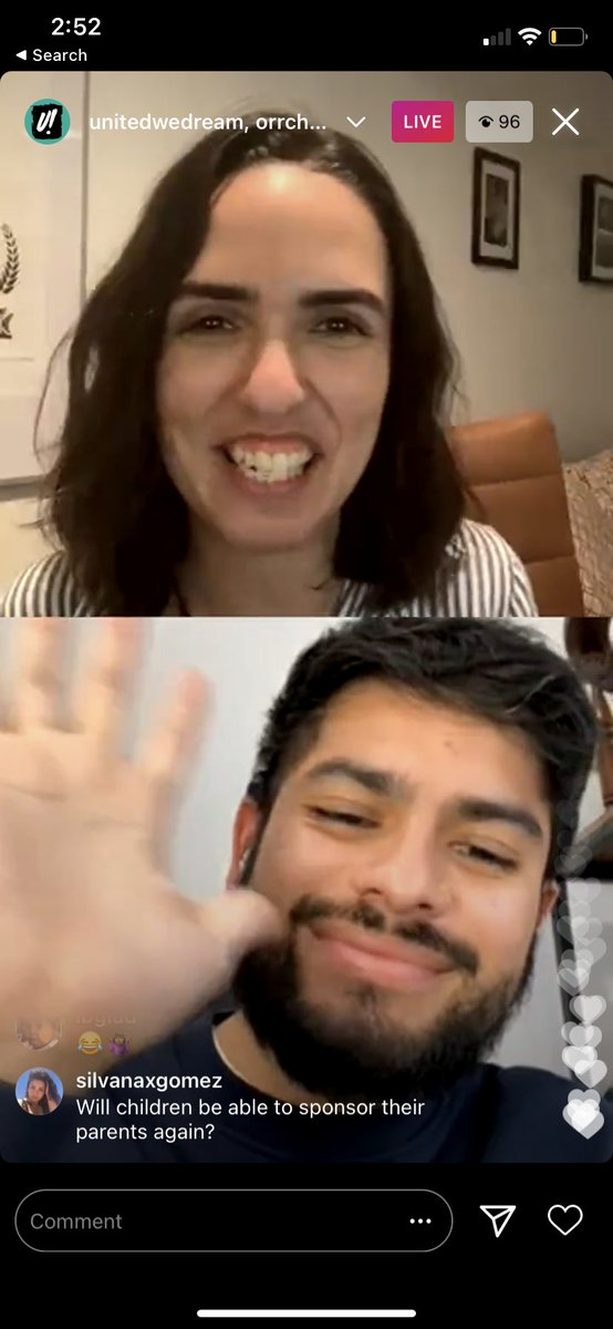 🔴We're LIVE on Instagram!  Juliana and Rodrigo are here to answer all your questions about Biden't latest immigration announcements. What does this mean for you?  Join us to learn more: