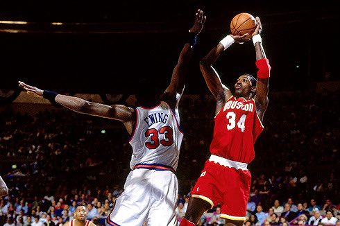 """Happy Birthday to one of the best to ever play the game Hakeem """"The Dream"""" Olajuwon!  His nickname should have been """"The Nightmare"""" because that's what he was!"""