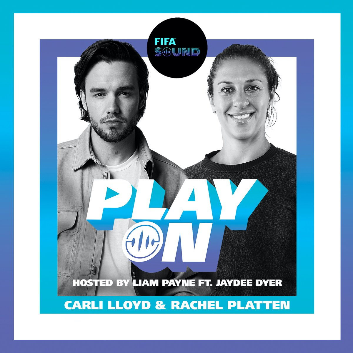 Tune-in to the new episode of our #PlayOn podcast to hear @LiamPayne chat ⚽ and 🎶 with @CarliLloyd and Rachel Platten. ↳