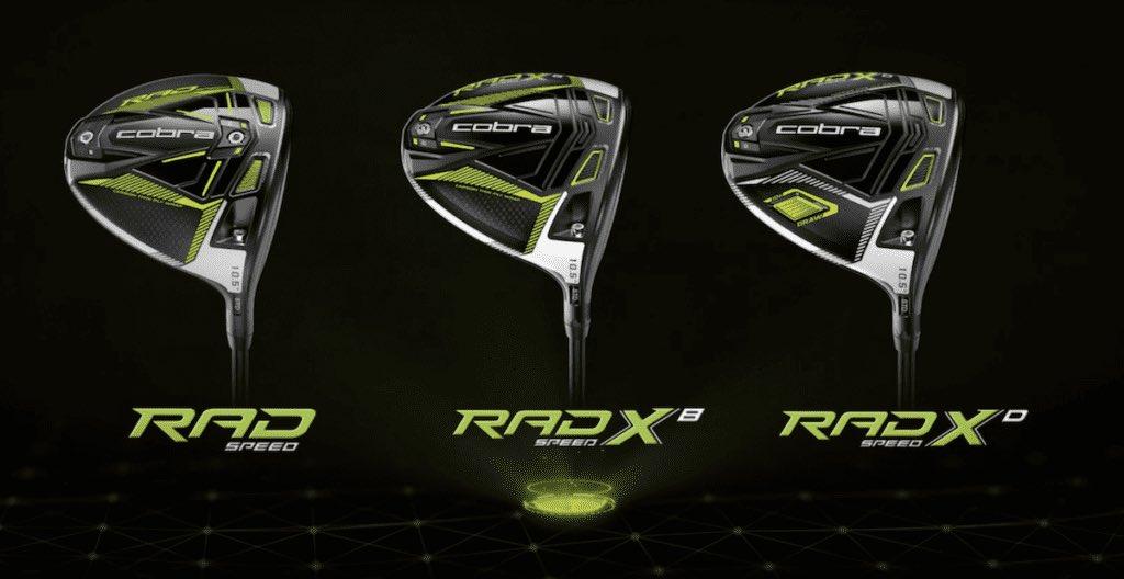 How far will the new Cobra RAD Drivers fly?💥🏌️♂️  #cobra #golf #golfdriver