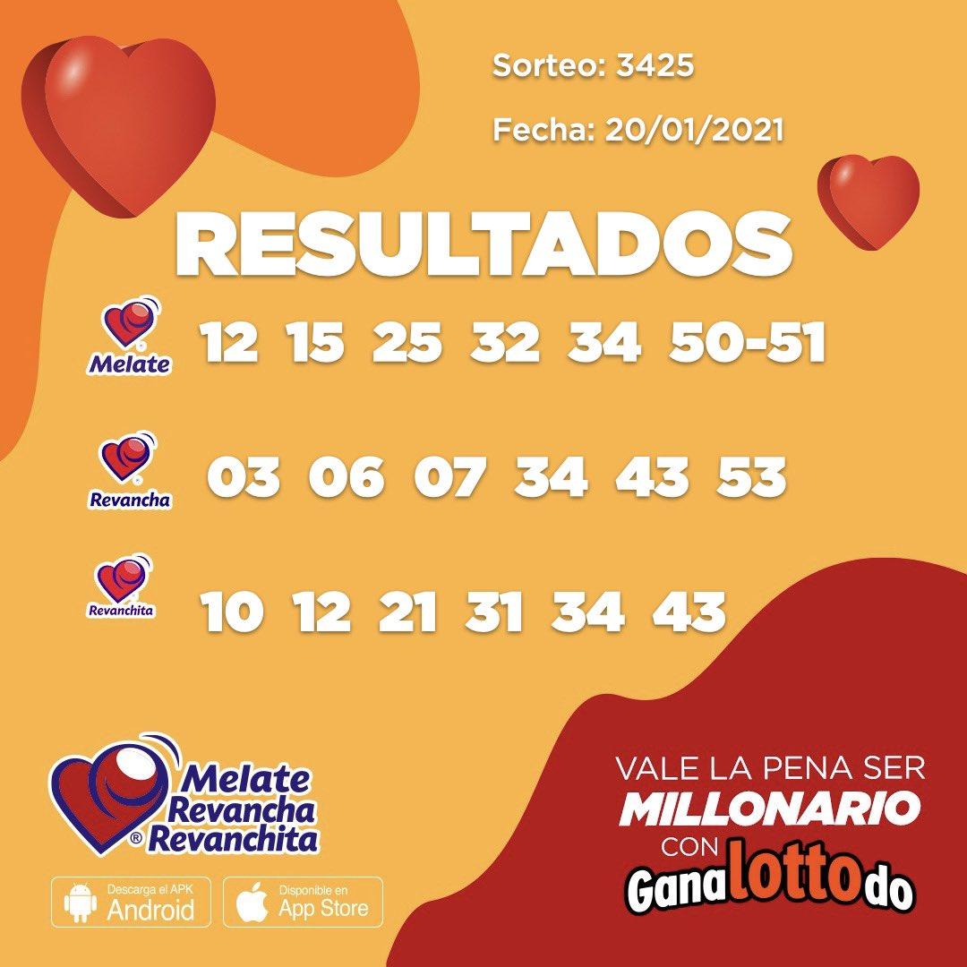 ¡FELICIDADES A TODOS LOS GANADORES! 🥳🤗 Aquí te compartimos los resultados del sorteo #3425 de Melate ❤️ Cuéntanos ¿ganaste? 🤩👏 https://t.co/ji5ZfNeLYP https://t.co/hR2D6WByLW