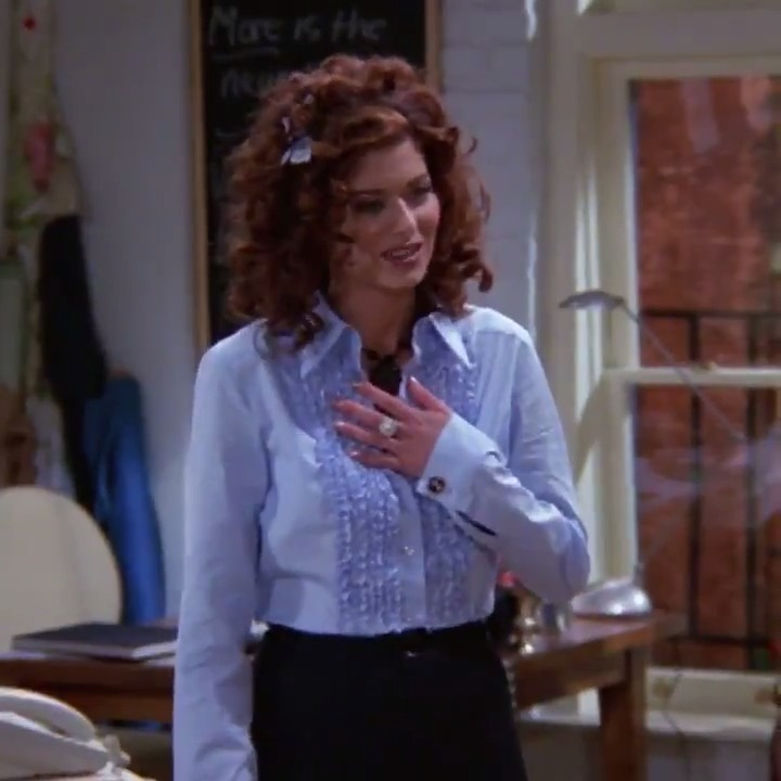 From the beginning to the end, Grace Adler has always been an icon! 👑   ➡️