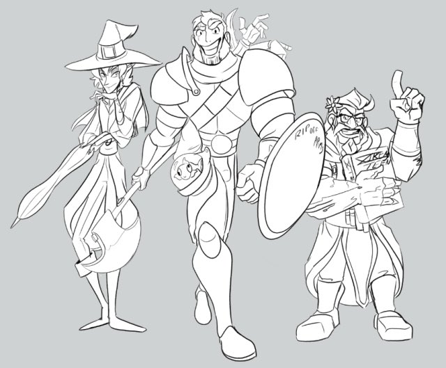 Also does it count if you drew someone else dnd stuff a lot?!#dndartists #thezonecast