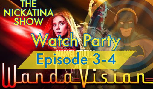 Tune in tonight at 11:30pm PST for the #WandaVision watch party in @Nickatina_show!! With special guests @NIMW32 @bhill170167 @MadMattVids @CoolleyGavin and Tyler from @POP_Culture2020  Pre show:   Watch party link: