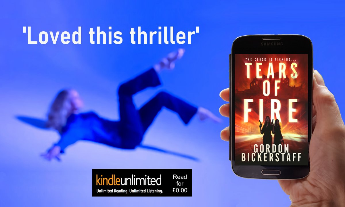 'Story that comes across as original, with an unpredictable page-turning plot.'  #ThrillerFan #KindleUnlimited #ian #IndieBookBlast #bookish #bookworm