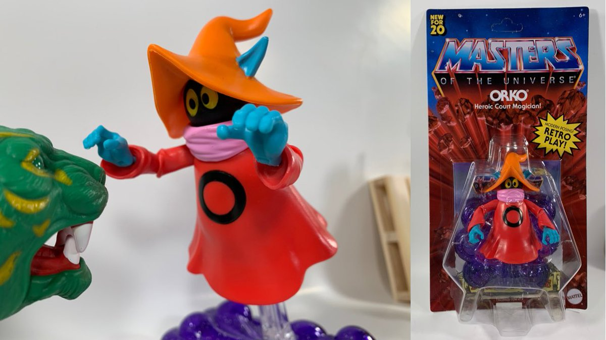 Masters Of The Universe Origins Orko Action Figure Review! Check him out here! #MOTU #MastersoftheUniverse