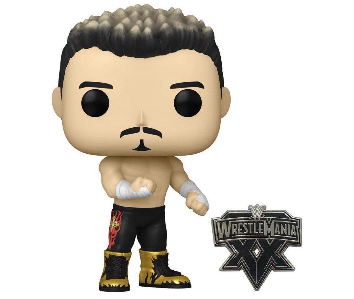 GameStop Exclusive Eddie Guerrero (Wrestlemania) Pop! & Pin is up for preorder #Ad    #WWE #EddieGuerrero #LatinoHeat #Funko #FunkoPop #FunkoFinderz #FunkoFair