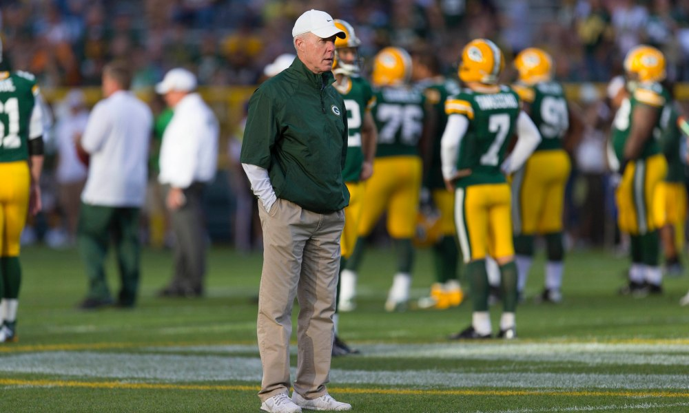 Today's question on The #JumpAround with @JimRutledge:  What's the ONE word you would use to describe former #Packers GM Ted Thompson?  (📸: AP)