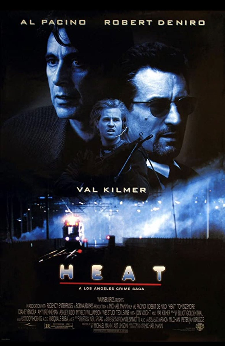 Time for a classic #heat #classicmovie #class